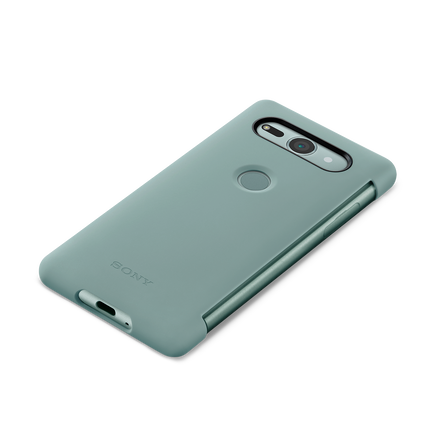 Xperia XZ2 Compact Style Cover Touch SCTH50 (Green)