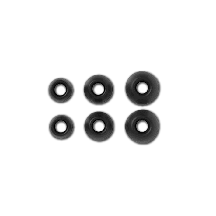 SPARE EX SERIES EARBUD PACK - BLACK, , product-image