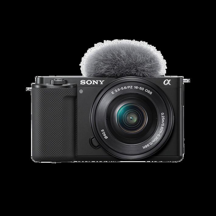ZV-E10 | Interchangeable Lens Vlog Camera with 16-50mm Lens Kit (Black), , product-image
