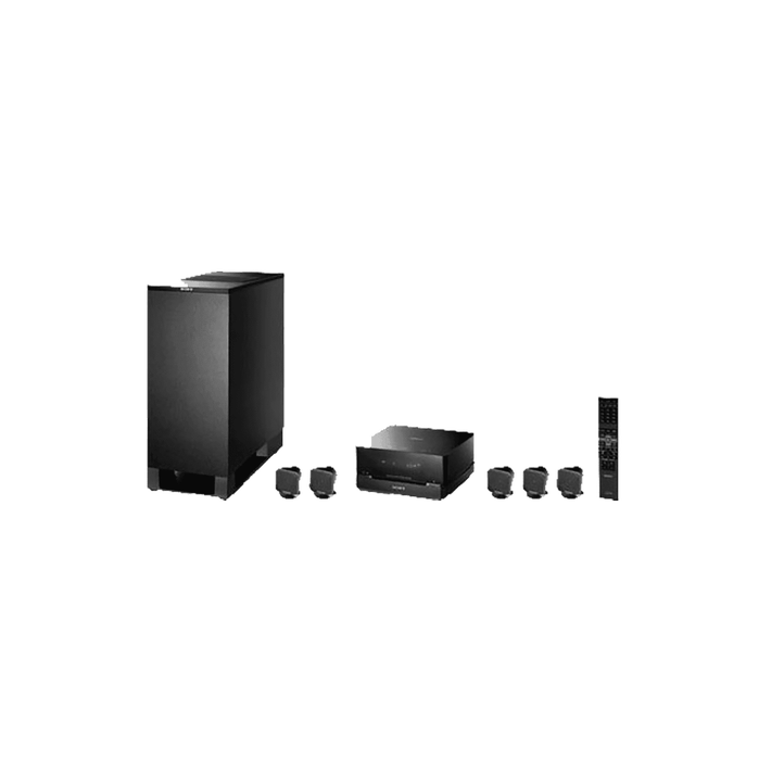 5.1 Channel DVD Home Theatre System (Black), , product-image