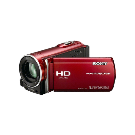 HD Handycam Camcorder (Red)