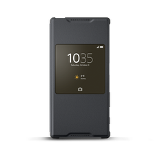 Smart Cover Stand SCR42 for Xperia Z5 (Graphite Black)