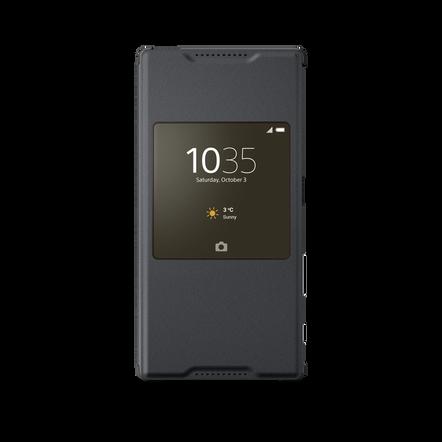 Smart Cover Stand SCR42 for Xperia Z5 (Graphite Black), , hi-res