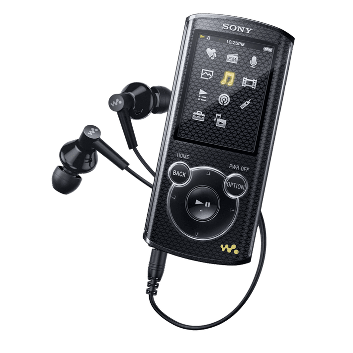 4GB E Series Video MP3/MP4 Walkman (Black), , product-image