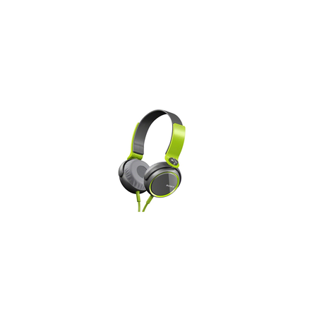 XB400 Extra Bass (XB) Headphones (Green)