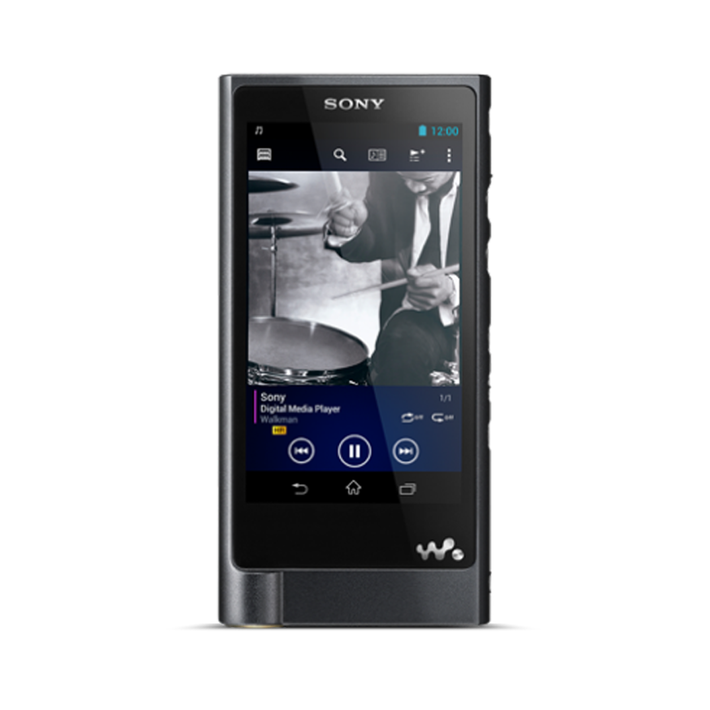 X Series High-Resolution Audio Player 128GB Walkman (Black), , product-image