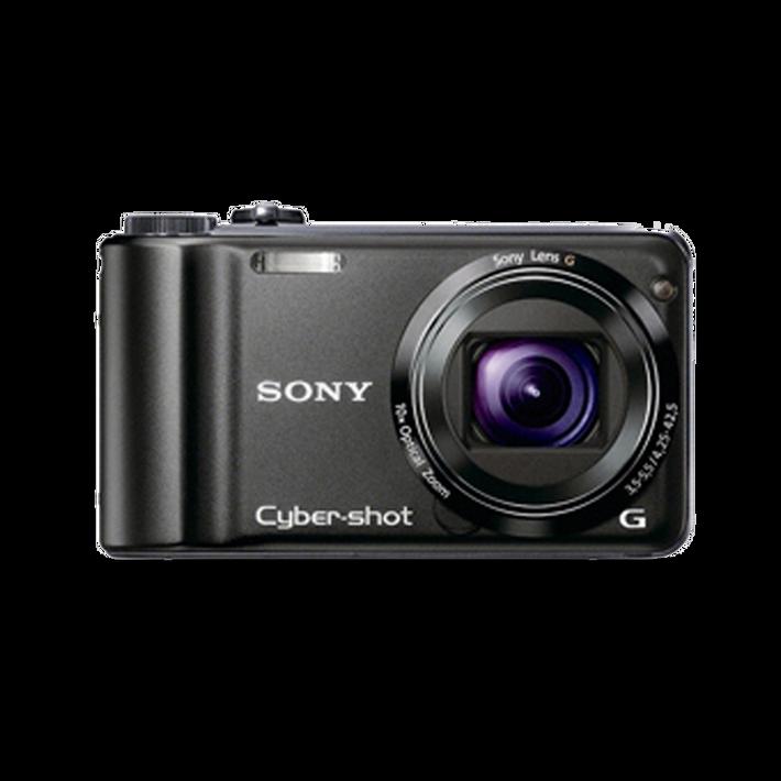 10.2 Mega Pixel H Series 10x Optical Zoom Cyber-shot (Black), , product-image