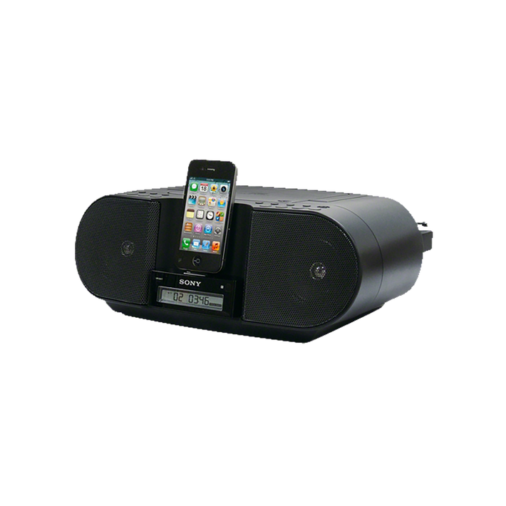 CD Boombox for iPhone and iPod, , product-image
