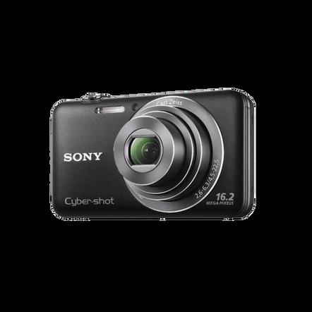 16.2 Megapixel W Series 5X Optical Zoom Cyber-shot Compact Camera (Black)