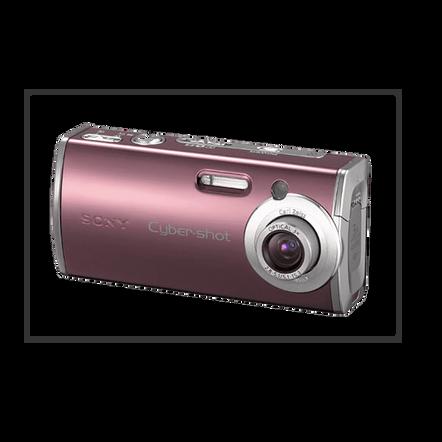 4.0 Megapixel L Series 3X Optical Zoom Cyber-shot Compact Camera (Red), , hi-res