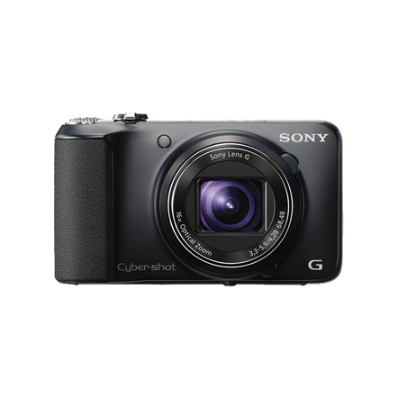 18.2 Megapixel H Series 16X Optical Zoom Cyber-shot Compact Camera (Black)