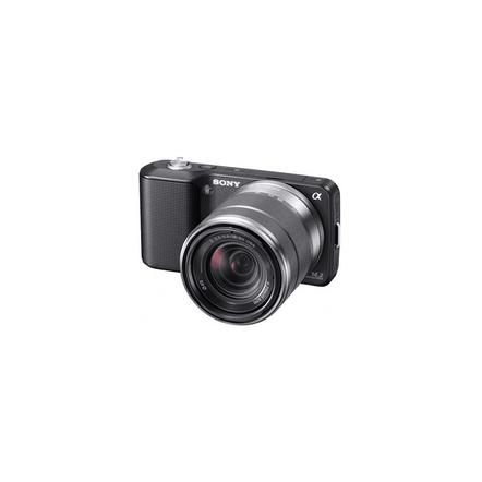 14.2 Mega Pixel Camera (Black) with SEL1855 lens, , hi-res