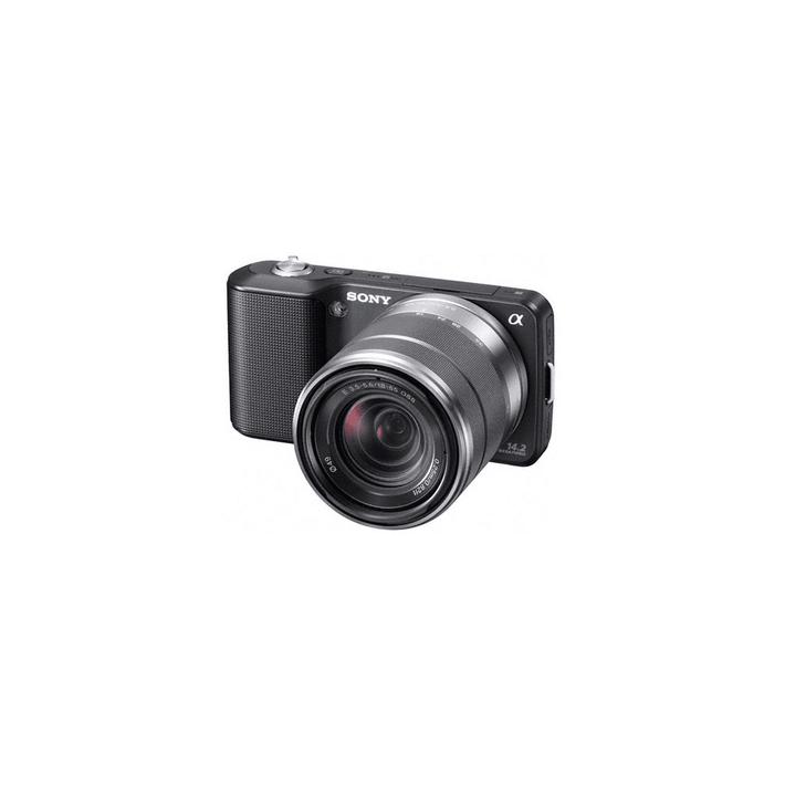 14.2 Mega Pixel Camera (Black) with SEL1855 lens, , product-image