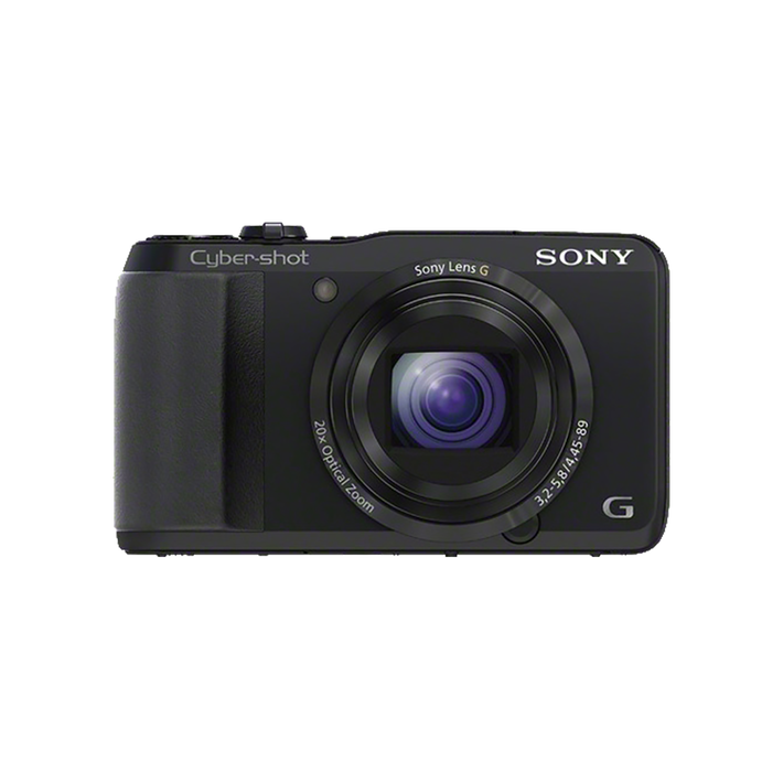 18.2 Megapixel H Series 20X Optical Zoom Cyber-shot Compact Camera (Black), , product-image