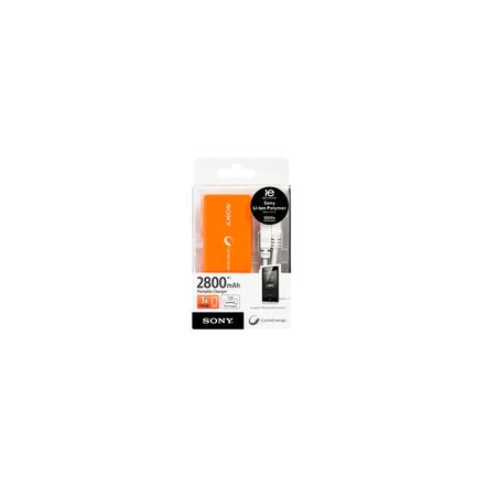 Portable USB Charger 2800mAH (Orange), , hi-res