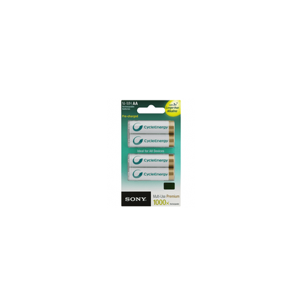 Cycle Energy Multi-Use Premium AA size 4-pc Blister pack (2100mAh), , hi-res