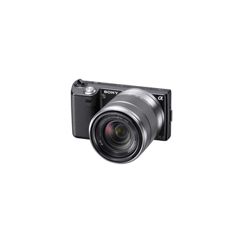16.1 Mega Pixel Camera (Black) with SEL1855 lens, , hi-res