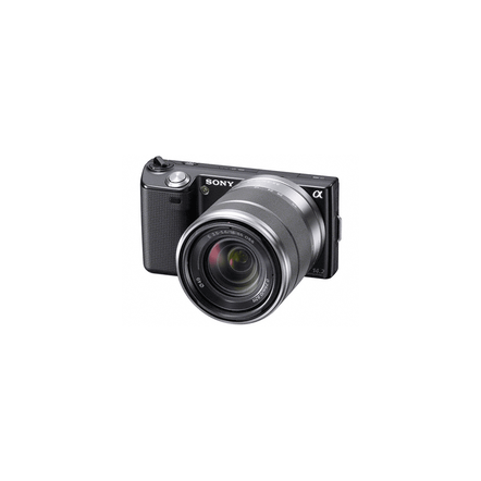 16.1 Mega Pixel Camera (Black) with SEL1855 lens, , hi-res