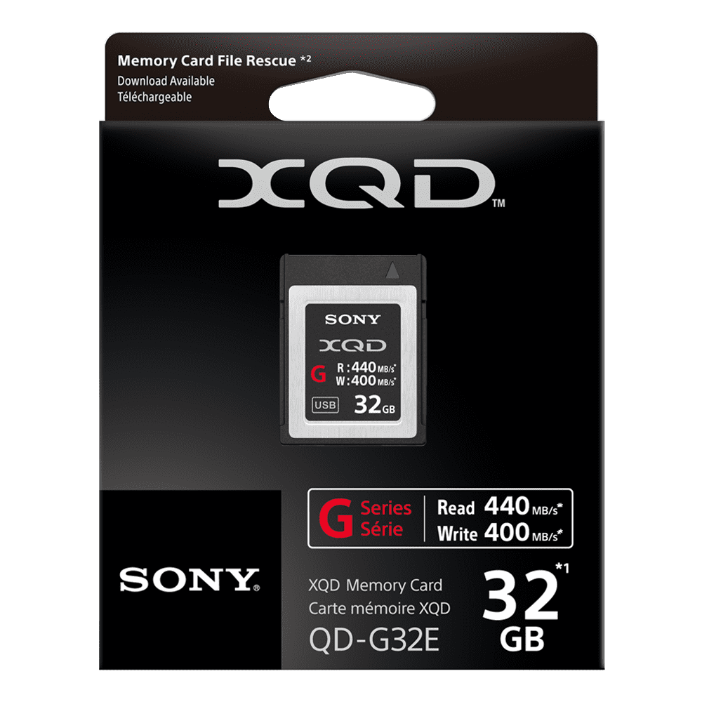 XQD G Series 32GB Memory Card, , product-image