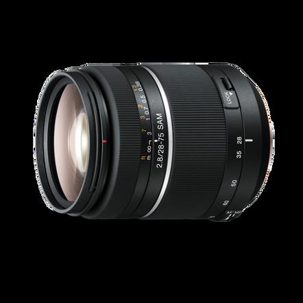 A-Mount 28-75mm F2.8 SAM Lens, , hi-res