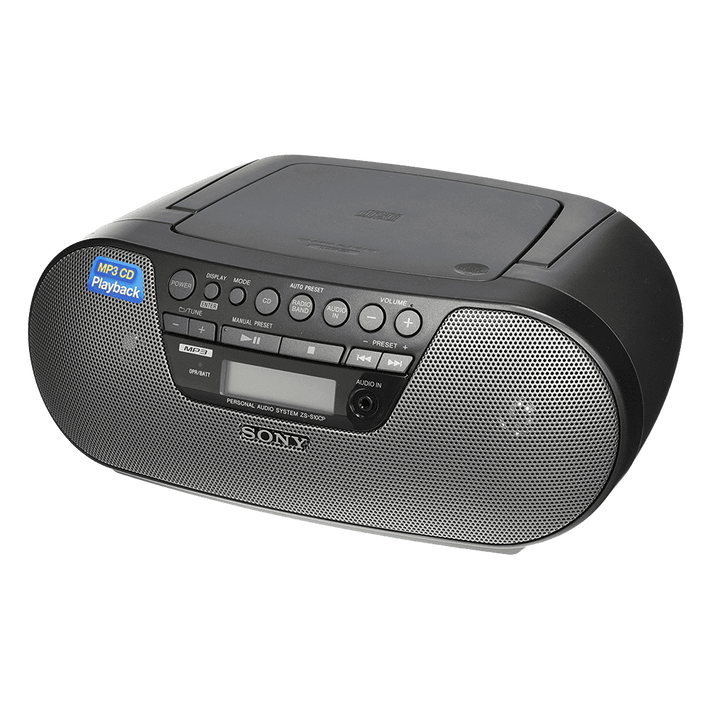 ZS-S10CP Compact CD Boombox, , product-image