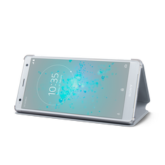 Style Cover Stand SCSH40 for Xperia XZ2 (Grey)