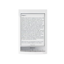 T1 Reader Wi-Fi Touch with 6.0 Paper-Like Touch Screen and Expandable Memory (White)