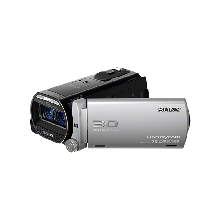 Flash Memory HD Camcorder (Silver), , product-image