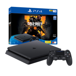 PlayStation4 Slim 1TB Console with Call of Duty: Black Ops 4, , hi-res