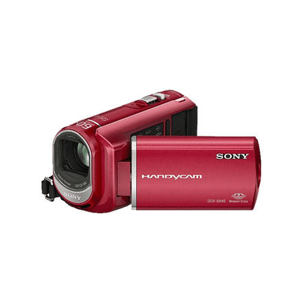 Hybrid SX40 4GB Handycam Camcorder (Red)