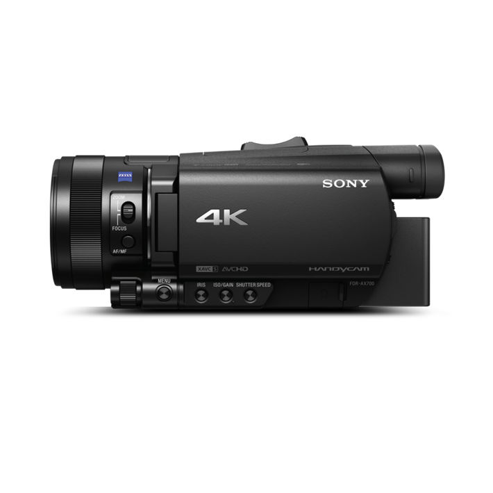 FDR-AX700 4K HDR Camcorder, , product-image