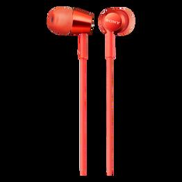 EX155AP In-Ear Headphones (Red), , hi-res