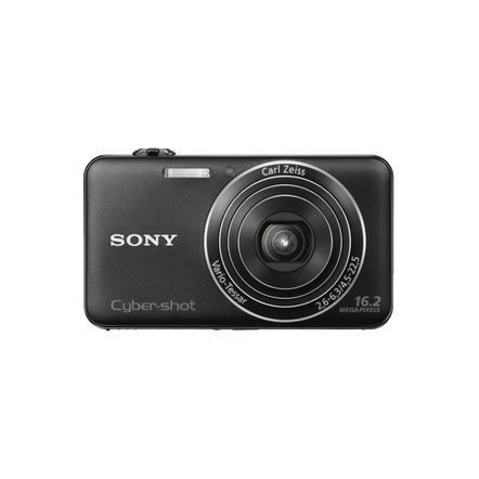 16.2 Megapixel W Series 5X Optical Zoom Cyber-shot Compact Camera (Black)