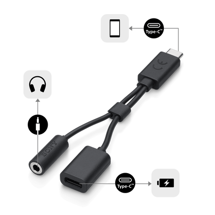 USB Type-C 2-in-1 Cable, , hi-res