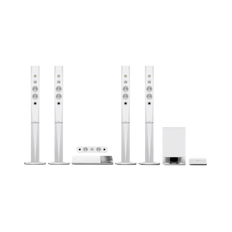 5.1 3D Blu-ray Disc Home Theatre with Bluetooth (White)
