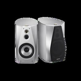 High-Resolution Audio Stereo Bookshelf Speakers (Black), , lifestyle-image