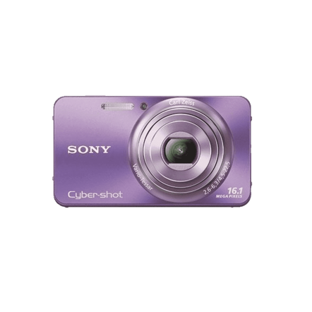 16.1 Megapixel W Series 5X Optical Zoom Cyber-shot Compact Camera (Violet)