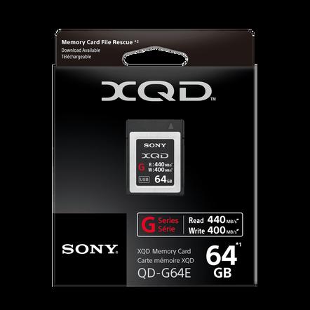 XQD G Series 64GB Memory Card, , hi-res
