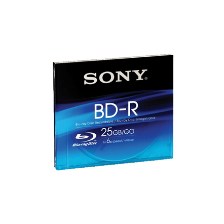 25GB Blu-ray Disc (Write Once), , hi-res