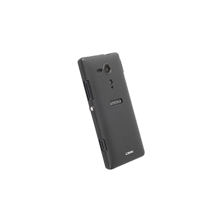 Xperia SP - Krusell Colourcover Black Case
