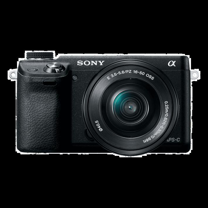 NEX-6 16.1 Mega Pixel Camera with SELP1650 Lens, , product-image