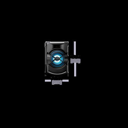High Power Mini Hi-Fi System with Bluetooth