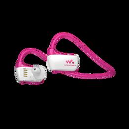 W Series Waterproof MP3 4GB Walkman (Pink)