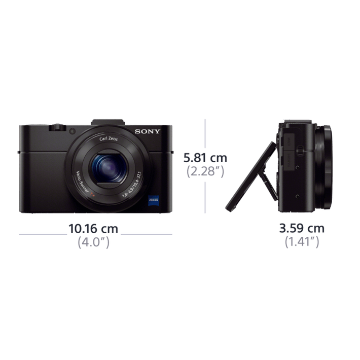 RX100 II Digital Compact Camera with 3.6x Optical Zoom, , product-image