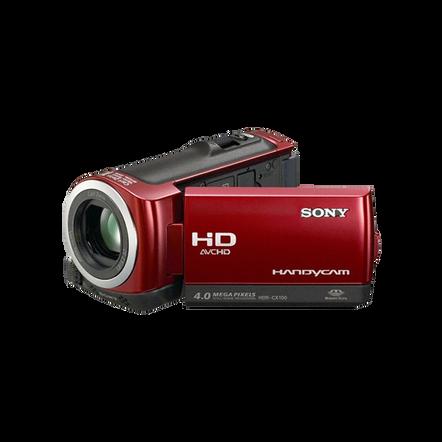 Hybrid 8GB Full HD Camcorder (Red), , hi-res