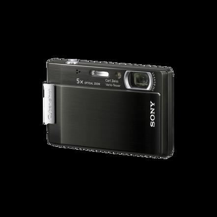 8.1 Megapixel T Series 5X Optical Zoom Cyber-shot Compact Camera (Black), , hi-res