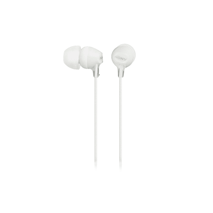 In-Ear Lightweight Headphones with Smartphone Control (White), , product-image