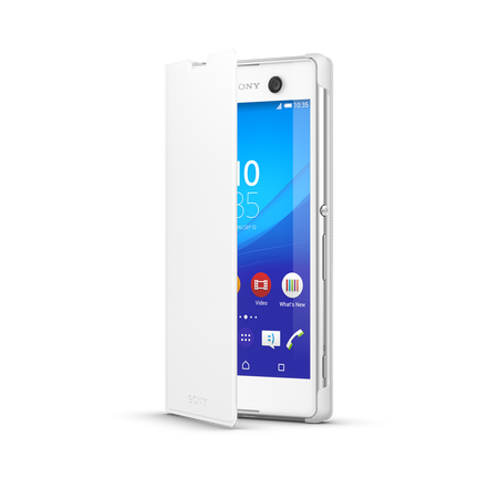 Style Cover Stand for Xperia T2 Ultra SCR14 (White), , hi-res