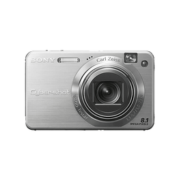 8.1 Mega Pixel W Series 5x Optical Zoom Cyber-shot (Silver), , hi-res
