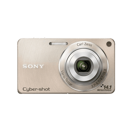 14.1 Megapixel W Series 4X Optical Zoom Cyber-shot Compact Camera (Gold)
